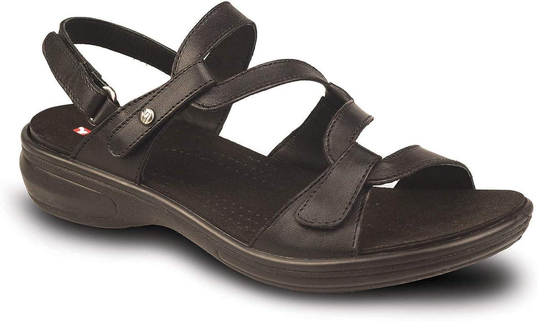 Revere kvinna 34MIAM 34MIAM 34MIAM Läder Sandaler  online shopping sport