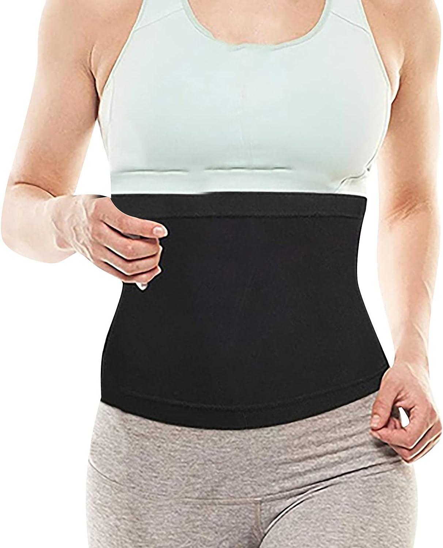 Inverlee Women's Shapewear Sports Fitness Waist Trainer Yoga Restraint Belt Body Sculpting Sweat Belt Slimming Belt Shapewear