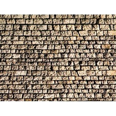 Noch Mauerplatte � Quaderstein�, extra lang, 64 x 15 cm