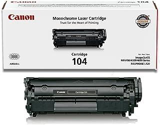 Canon Original 104 Toner Cartridge (2, Black)