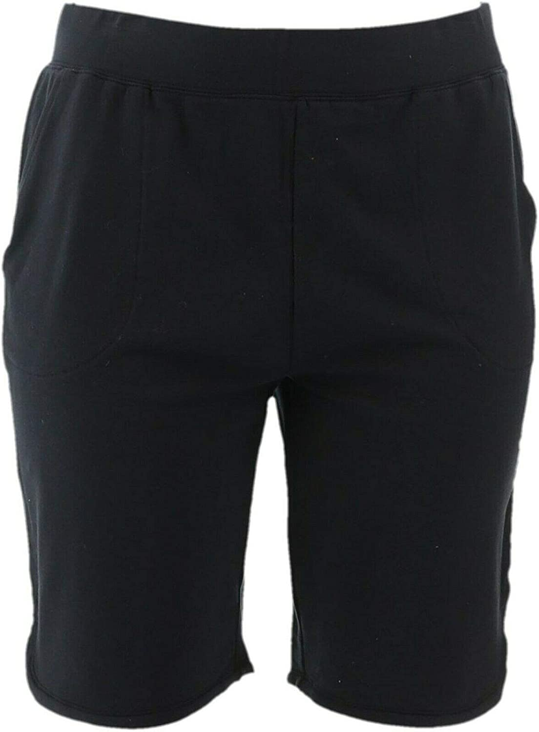 Denim& Co French Terry Pull-On Shorts 11 Inseam A351340