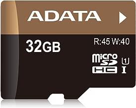 ADATA Premier Pro 32GB microSDHC UHS-I U1 Memory Card (AUSDH32GUI1-RA1)