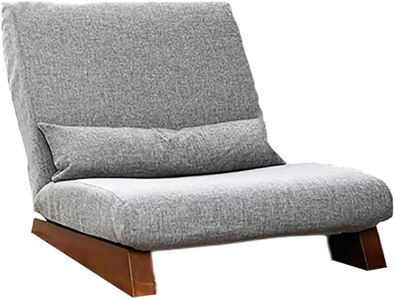 suministro de productos de calidad Beanbag PHTW HTZ Sofá Simple Simple Simple Y Perezoso Plegable   Sofá Individual De Madera De Ocio   Sofá del Piso del Dormitorio Mini Sofá del Juego del Almuerzo   Sofá Desmontable del Dormitorio + (Color   B)  mejor marca