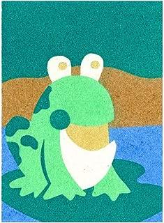 Sandtastik Preschool Craft Peel N Stick Sand Art Board #13 - Mr. Frog