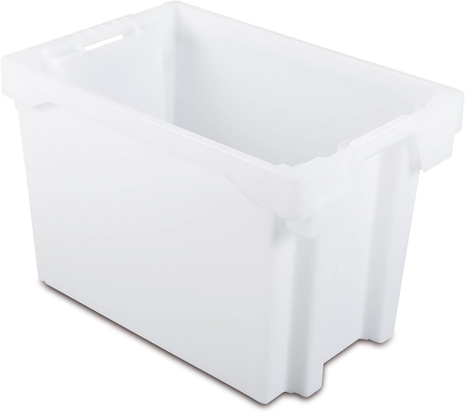 Tayg 6440-N Euro-caja para almacén y transporte 6640, Transparente, 600 x 400 x 400 mm