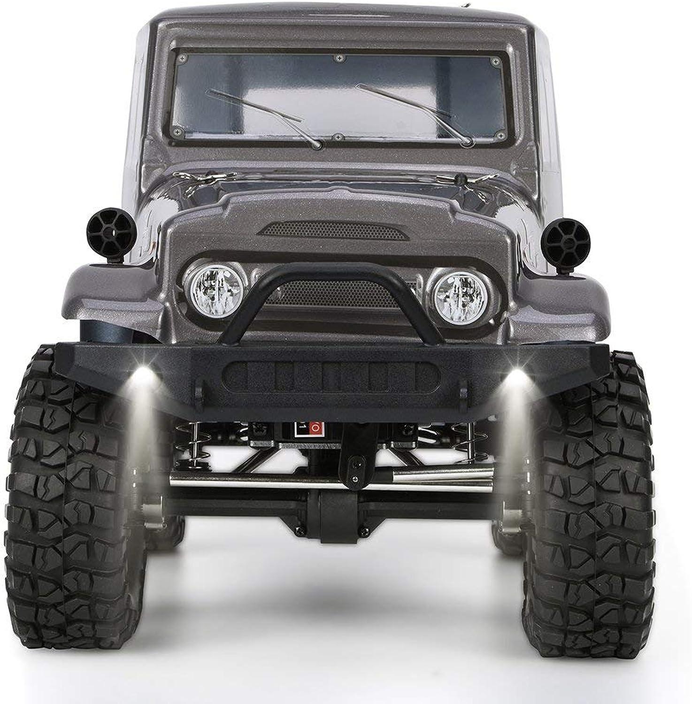 comprar barato @MZL 4wd Off Road Rock RC Coche Crawler RC RC RC Trucks 4x4 RC Crawlers 1 10 con Luces Eléctrico Impermeable Rock Cruiser Hobby Juguete para Niños  hasta un 60% de descuento
