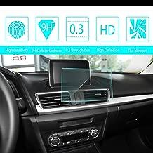 for 2014 2015 2016 Mazda Axela Car Screen Tempered Film Navigation Screen Protector HD Clear 9H Hardness Anti-Fingerprint Anti-Scratch