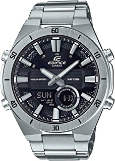 CASIO EDIFICE Men's Automatic Wrist Watch analog-digital Display and Stainless Steel Strap, ERA110D-1A