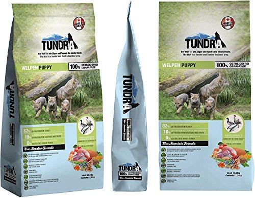Tundra Hundefutter Puppy mit Pute - getreidefrei (11,34kg)