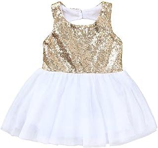 b760b3285f1fd DAY8 Robe Fille Cérémonie Mariage Princesse Tutu Robe Fille 1-4 Ans a la  Mode