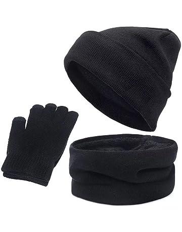 LIVACASA Berretto Invernale per Donna Cappello Regolabile 55-60CM Cappello in Pile Caldo