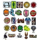 100枚 スケートボードのサイン 防水ステッカー 旅行する スーツケース ヘルメット 車 ノートブックなど適用