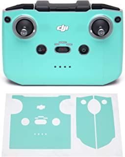 Wrapgrade Skin kompatibel med DJI Mini 2 | Fjärrkontroll (MINT BLUE)