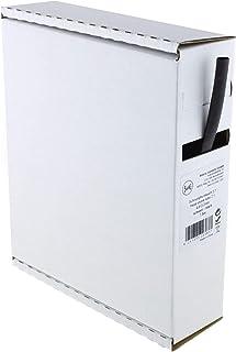 Heat Shrink Tubing 2:1 6.4-3.2 mm 7.5 m Dispenser Box Black
