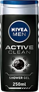 NIVEA, MEN, Shower Gel, Active Clean, 250ml