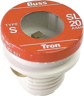 Bussman BP/SL-20 20 Amp Tamper Proof Plug Fuses 3 Count