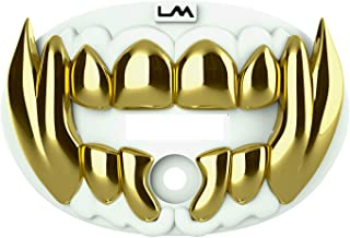 Loudmouth Football Mouth Guard | 3D Beast Chrome Adult and Youth Mouth Guard | Mouth Piece for Sports | Maximum Air Flow M...