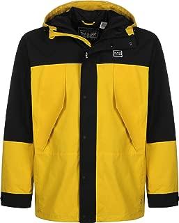 Men's Lightweight Sport Parka Jacket, Yellow
