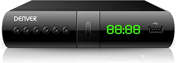 Denver Electronics DTB-133 Terrestre Alta Definición Total Negro TV Set-Top Boxes - Reproductor/sintonizador (Terrestre, DVB-T2, 720p,1080p, H.264,MPEG1,MPEG2,MPEG4, Negro, Digital)
