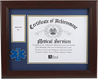 Allied Frame US EMS Medal and Award Certificate Frame - 8 x 10 Opening
