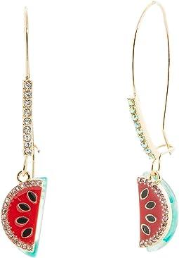 Watermelon Sheppard Hook Earrings