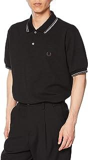 [フレッドペリー] ポロシャツ CHANGE TIPPED POLOSHIRT F1824 メンズ 07_BLACK UK XS (日本サイズS相当)