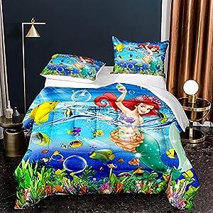 61GQY+CTIBS._SS300_ Mermaid Bedding Sets & Comforter Sets