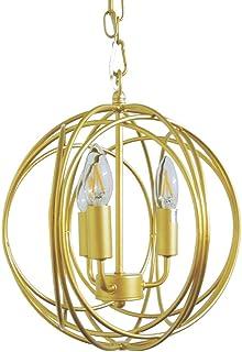 ムーラ アセルス オーブシャンデリア 3灯 LED対応 ONV-005-3 (マットゴールド)