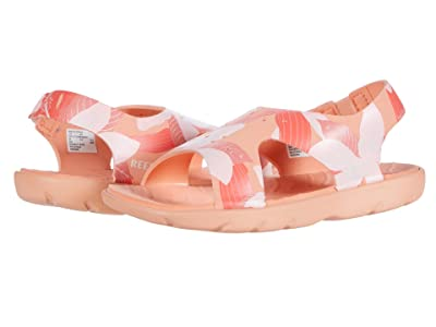 Reef Kids Little Reef Beachy (Infant/Toddler/Little Kid) (Cantaloupe) Girls Shoes