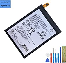 New Replacement Battery LIS1632ERPC Compatible with Sony Xperia XZ Xperia XZ Dual SIM F8332 F8331 1305-6549 with Tools
