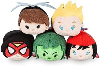 Disney - Marvel's Women of Power Mini Mini ''Tsum Tsum'' Plush Collection set of 5