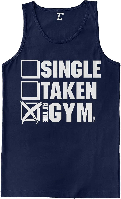 Superlatite Single Taken at The Gym - Workout Tank Men's List price Fitness Top