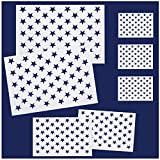 Whaline 7 Pieces American Flag 50 Stars...