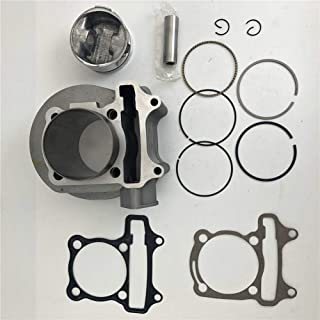 AH GY6 150cc 57mm Cylinder kits With piston ring pin for 152QMI 157QMJ Scooter Moped
