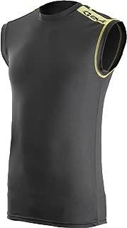 EVS Sports Unisex-Child Tug Top (Black/Hi-Viz, Large/X-Large)
