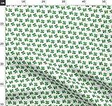 Vierblättriges Kleeblatt, Littlearrow, Grün,