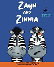 Zayn and Zinnia: A Children's Picture Rhyming Book About Sibling Bonds and Friendship
