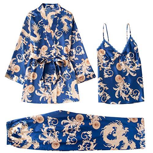 Pijama 3 Piezas Mujer marca Ailian