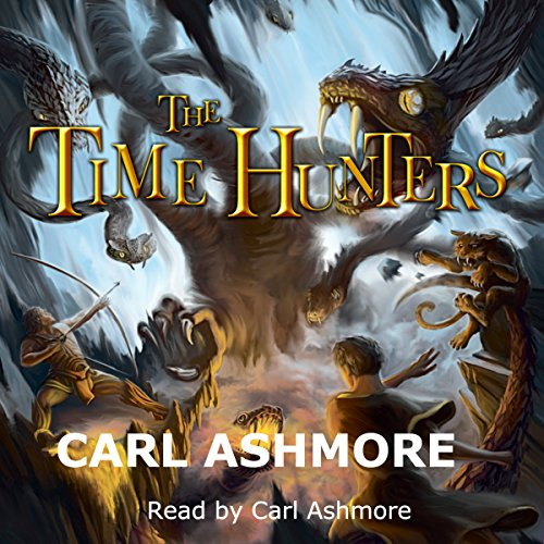 The Time Hunters audiobook cover art