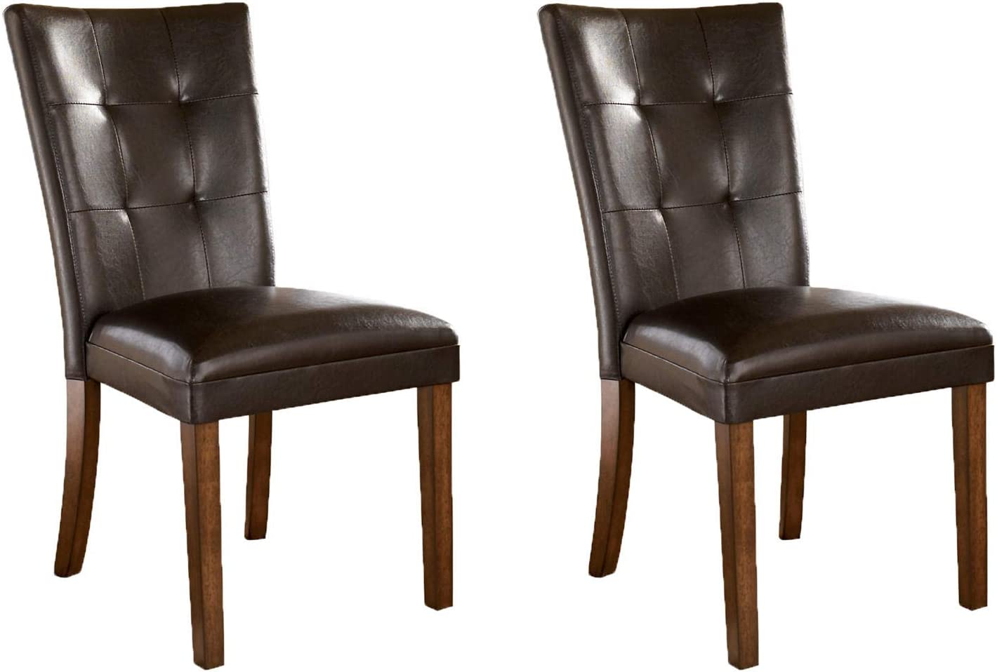 Limited time sale Signature Design by Ashley Mesa Mall Lacey Classic Room Set Chair Dining o