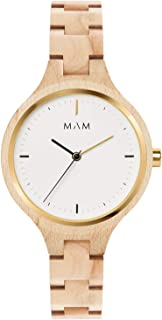 Mam originals Womens Analog Japanese quartz Watch with Other bracelet SILT 607