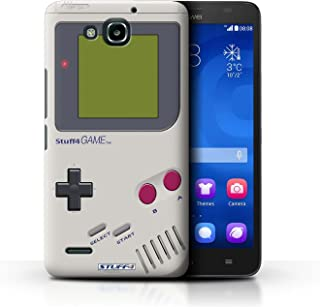 STUFF4 Phone Case / Cover for Huawei Honor 3X/G750 / Nintendo Game Boy Design / Games Console Collection