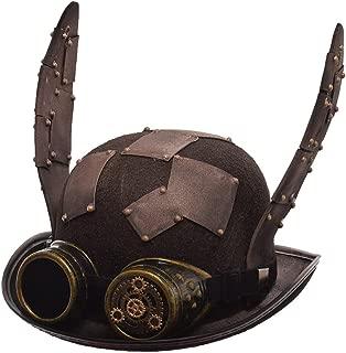 BLESSUME スチームパンク 男女兼用の帽子 ハット ネコ耳 オンボロ
