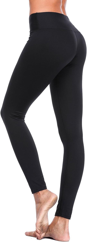 Vegatos Women's Yoga Capris Pants High Waist Tummy Control Active Workout Running Leggings
