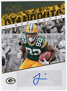 J'Mon Moore 2018 Panini Absolute Rookie Auto Signature Standouts Green Bay Packers RC Autograph