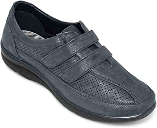 Ladies Womens Leisure Shoe Touch and Close