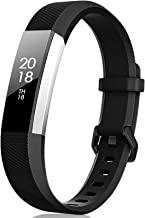 TreasureMax for Fitbit Alta HR Bands and Fitbit Alta Bands, Adjustable Soft Silicone Sports Replacement Accessories Bands ...