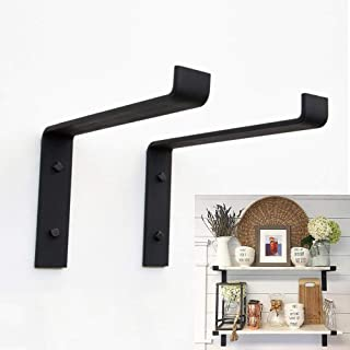Pack Wall Shelf Metal Right Angle Stand Wall Mount Support Board Stand Fixing Frame Save Space DIY Stand
