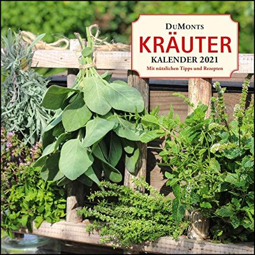 DuMonts Kräuter-Kalender 2021 ‒ Broschürenkalender ‒ mit Texten und Rezepten ‒ Format 30 x 30 cm