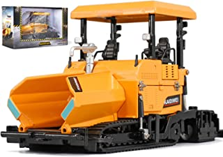 Metal Die-Cast Dump Truck Road Roller Engineering Vehicle 1/40 Scale Alloy Paver Toy Construction Alloy Models Toys for Ki...